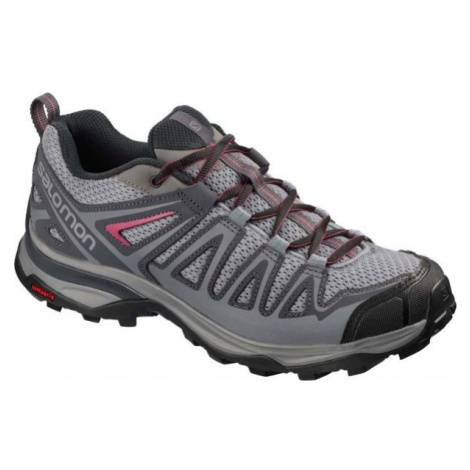 Salomon X ULTRA 3 PRIME W grey - Women's hiking shoes