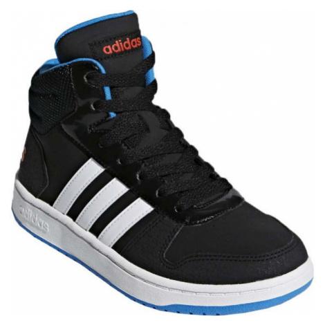 adidas VS HOOPS MID 2.0 K black - Kids' leisure shoes
