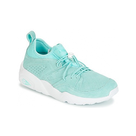 Puma BLAZE OF GLORY SOFT WNS women's Shoes (Trainers) in Blue