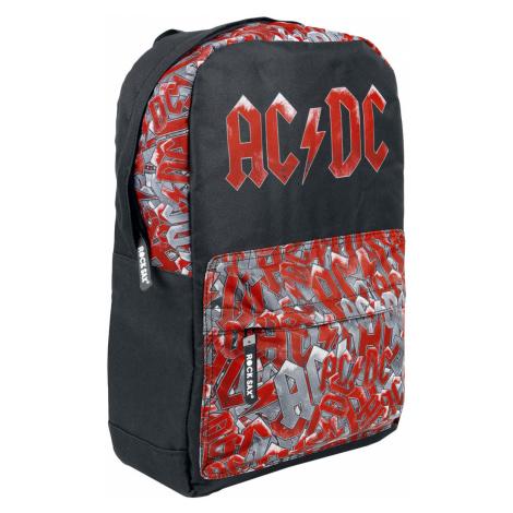 AC/DC - Pocket AOP - Backpack - black