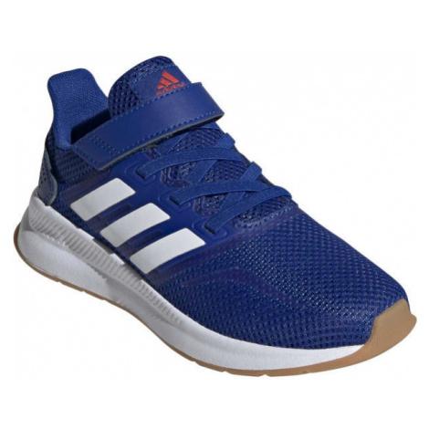 adidas RUNFALCON C blue - Kids' running shoes