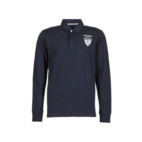 Serge Blanco RUGBY LEAGUE men's Polo shirt in Blue