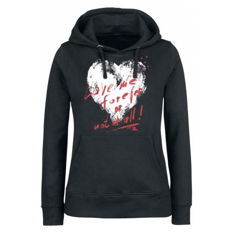 Full Volume by EMP - Promises - Girls hooded sweatshirt - black