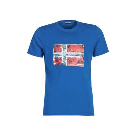 Napapijri SEITEM men's T shirt in Blue