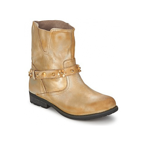Moschino Cheap CHIC CA21013 women's Mid Boots in Gold