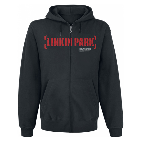 Linkin Park - Meteora Red - Hooded zip - black