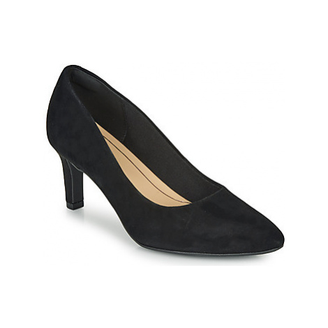 Clarks CALLA ROSE women's Court Shoes in Black