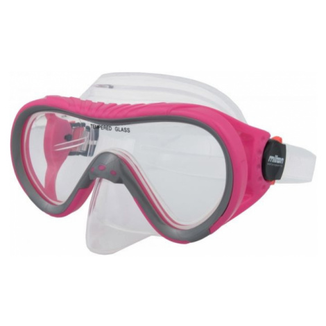 Miton ARAL pink - Children's diving mask