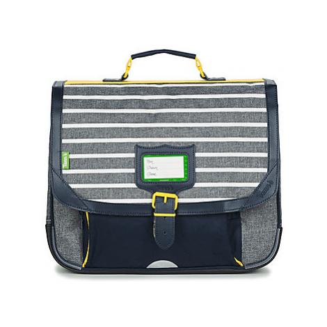 Tann's MALO CARTABLE 38 CM boys's Briefcase in Grey