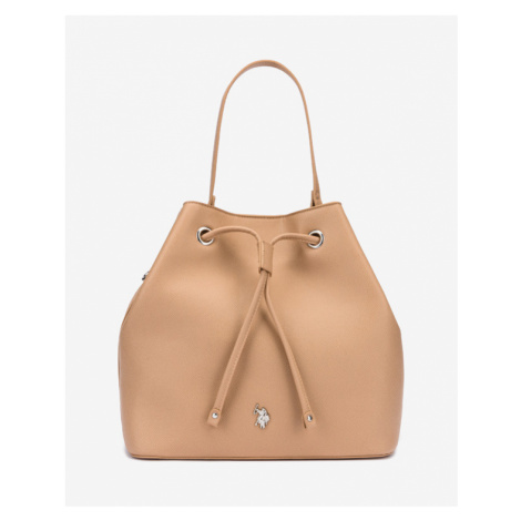 U.S. Polo Assn Jones Bucket Handbag Beige