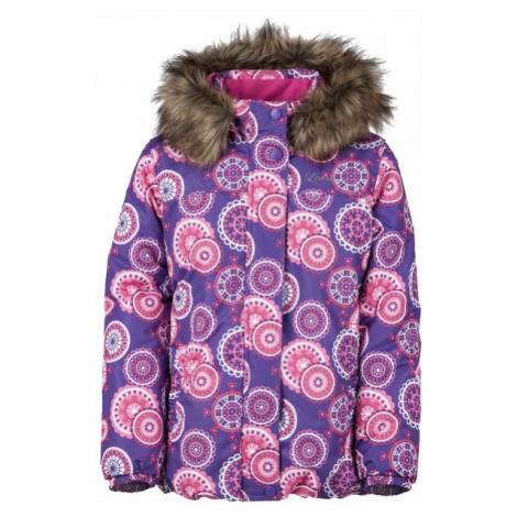 Lewro LATISHA 140-170 pink - Girls' winter jacket