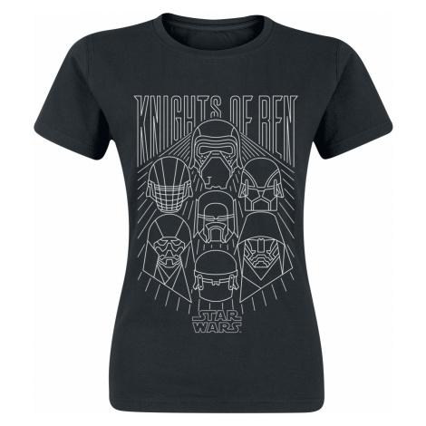 Star Wars - Knights of Ren - Girls shirt - black
