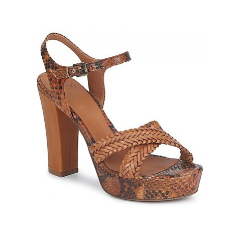 Fru.it KENIA women's Sandals in Brown