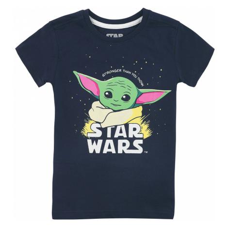 Star Wars Kids - The Mandalorian - Baby Yoda - Grogu T-Shirt dark blue