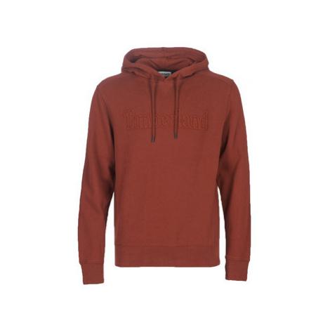 Timberland TR Timb o/h sweat SYRAH men's Sweatshirt in Red