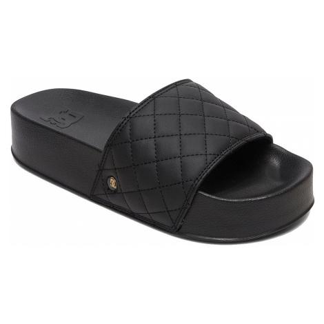 shoes DC DC Slide Platform SE - BG3/Black/Gold - women´s