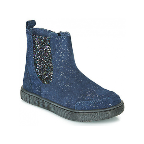 Mod'8 BLABIS girls's Children's Mid Boots in Blue
