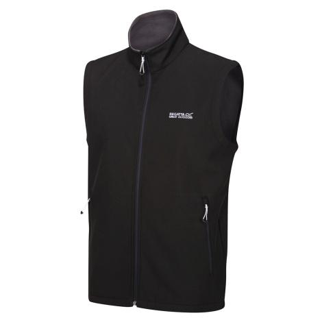 Regatta Mens Bradwell III Softshell Bodywarmer-Black-2XL
