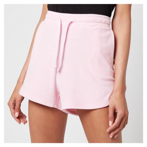 Tommy Jeans Women's TJW Pastel Velour Shorts - Romantic Pink Tommy Hilfiger