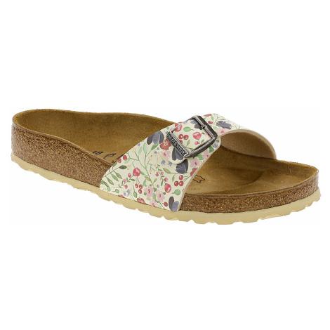 shoes Birkenstock Madrid - Meadow Flowers Beige - women´s