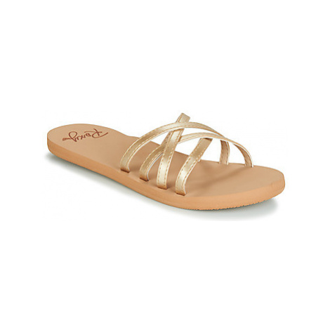 Roxy ABBIE J SNDL BRZ women's Mules / Casual Shoes in Gold