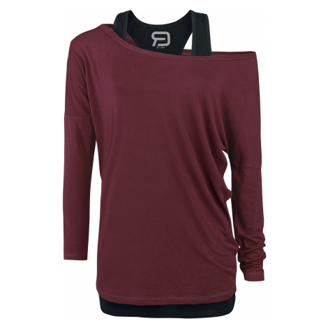 RED by EMP - Busting Loose - Girls longsleeve - berry