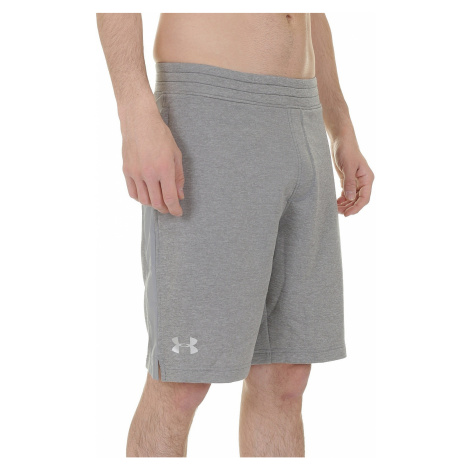 shorts Under Armour Tech Terry - 025/True Gray Heather/Silver