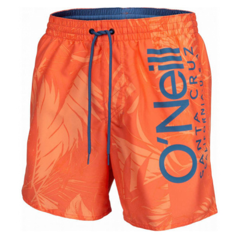 O'Neill PM CALI FLORAL SHORTS orange - Men's swim trunks