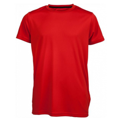 Kensis TKTE921-G REDUS GREEN red - Boys' sports T-shirt