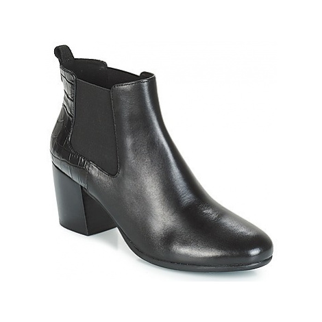 Geox D NEW LUCINDA women's Low Ankle Boots in Black