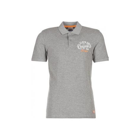Jack Jones JORTRAST men's Polo shirt in Grey Jack & Jones