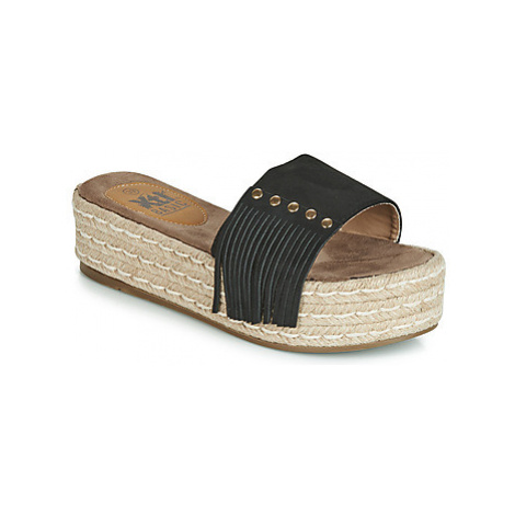Xti 63487 women's Mules / Casual Shoes in Black