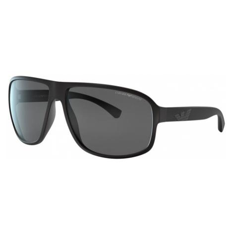 Emporio Armani Man EA4130 - Frame color: Tortoise, Lens color: Grey-Black, Size 63-14/125