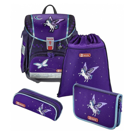 schoolbag Hama - Step By Step 138928/Touch 2 Pegas - Purple - kid´s