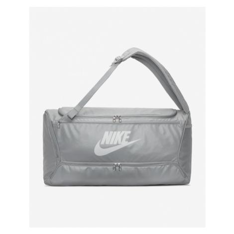 Nike Brasilia Convertible Duffle Bag Grey