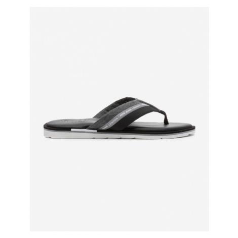 Pepe Jeans Barrel Reflective Flip-flops Black