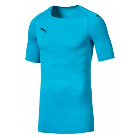 Puma FINAL evoKNIT GK Jersey blue - Men's goalkeeper T-shirt
