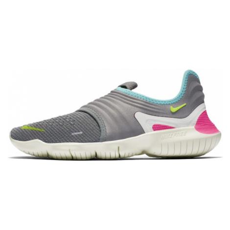 Nike Free RN Flyknit 3.0 Women's Running Shoe - Grey