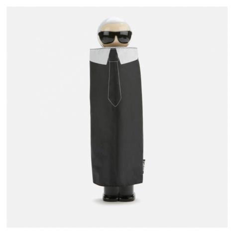 Karl Lagerfeld Women's K/Ikonik Karl Print Umbrella - Black