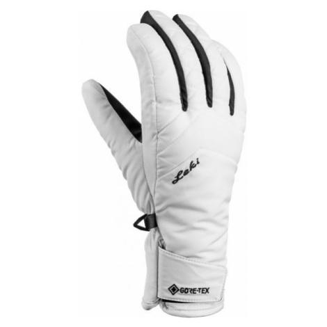Leki SVEIA GTX LADY white - Women's ski gloves