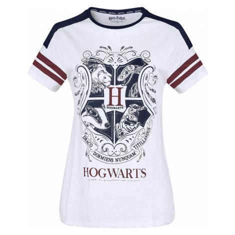 Harry Potter - Hogwarts - Girls shirt - white/red/blue