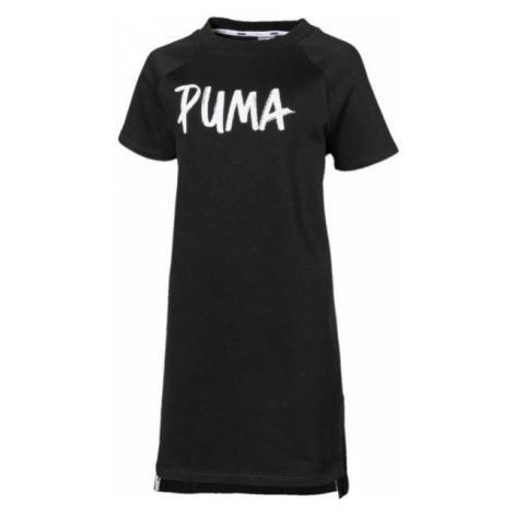 Puma ALPHA DRESS FL G black - Girls' dress