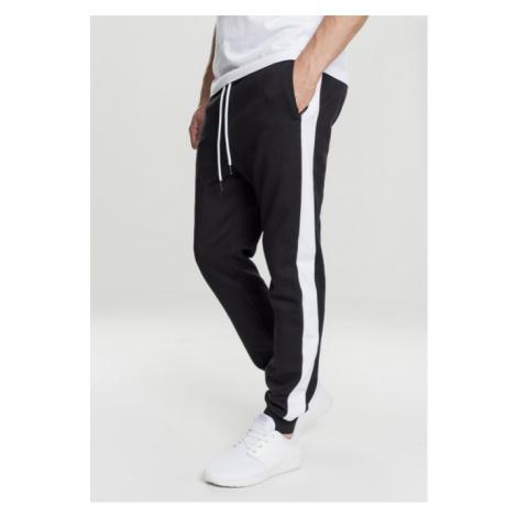 Urban Classics 2-Tone InterlockTrack Pants black/white