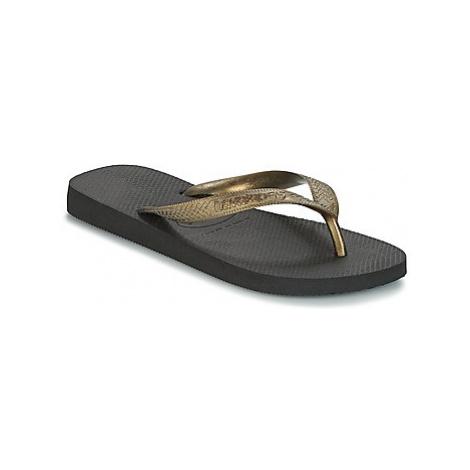 Havaianas TOP LOGO METALLIC women's Flip flops / Sandals (Shoes) in multicolour