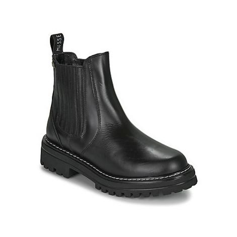 Musse Cloud JACKY women's Mid Boots in Black Musse & Cloud