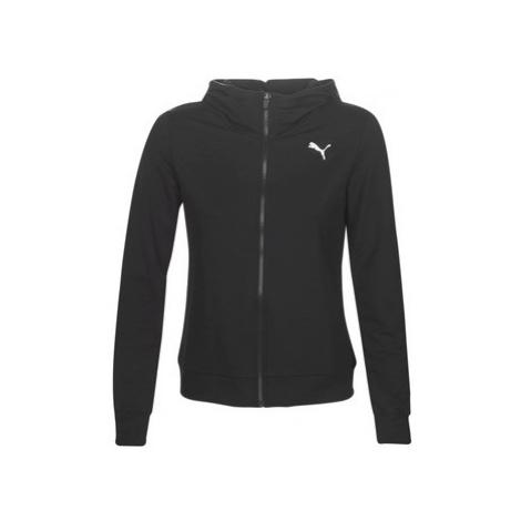 Puma W MS FZ LOGO HOODY women's Sweatshirt in Black