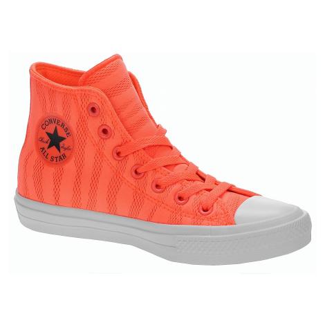 shoes Converse Chuck Taylor All Star II Hi - 155492/Hyper Orange/White/Gum