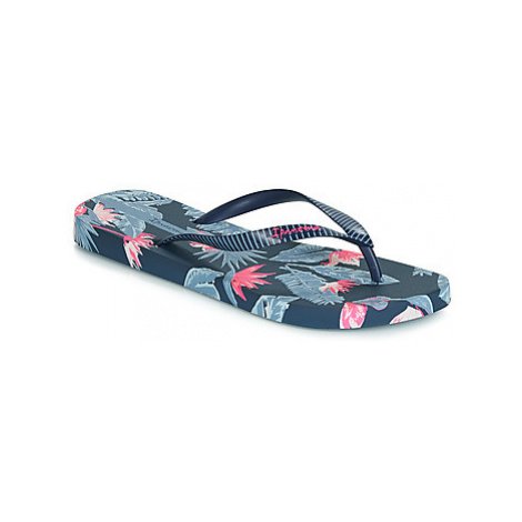 Ipanema I LOVE TROPICAL women's Flip flops / Sandals (Shoes) in Blue