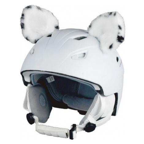 Crazy Ears SNOW LEOPARD white - Helmet ears