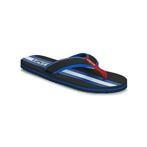 Levis DODGE SPORTSWEAR men's Flip flops / Sandals (Shoes) in Black Levi´s